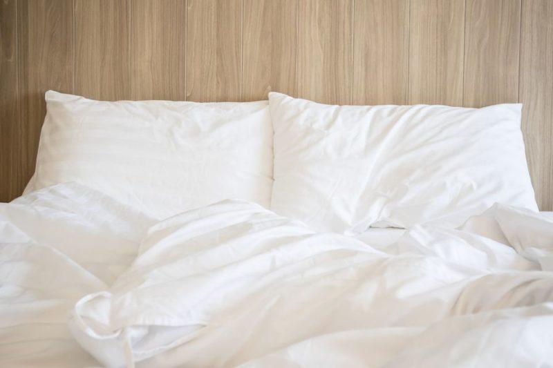 bed bug infestation   white bed sheets   pest detective   bed bug extermination